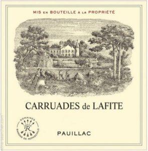 2006 CARRUADES DE LAFITE PAUILLAC Image
