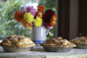 'TIS ALWAYS THE SEASON FOR FLOWERS & PIES Image