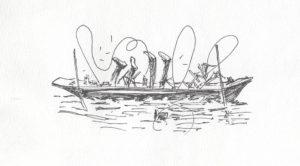 3 Men in a Boat sketch