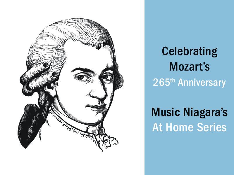 Mozart's 265th anniversary